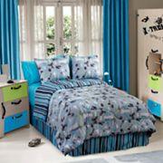 Veratex On the Edge Reversible Comforter Set