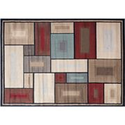 Iron Bridge Squares Rug