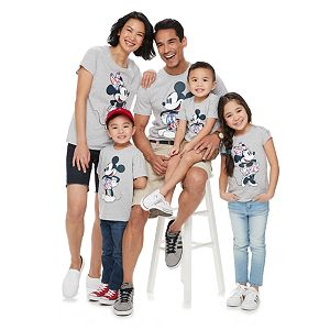 Disney's Minnie Mouse & Mickey Mouse Americana Graphic Tops by Family Fun