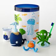 Jumping Beans Fish Tales Bath Accessories