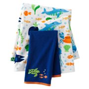 Jumping Beans Fish Tales Bath Towels