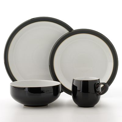 Denby Jet Black Dinnerware Collection