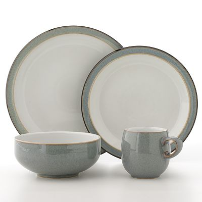Denby Jet Grey Dinnerware Collection