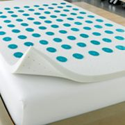 Home Classics Puregel 2-in. Memory Foam Mattress Topper