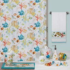 Creative Bath Rainbow Fish Bathroom Accessories Collection by