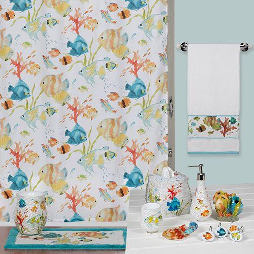 Creative Bath Rainbow Fish Bathroom Accessories Collection