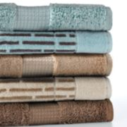 Apt. 9 Highly Absorbent Solid and Dashes Bath Towels