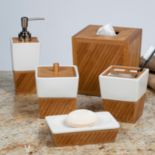 Creative Bath Spa Bamboo Bathroom Accessories Collection