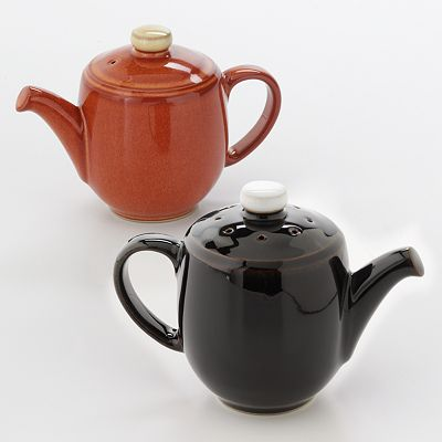 Denby Mini Teapot Salt and Pepper Shakers