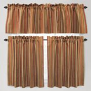 Park B. Smith Raynier Tier Kitchen Curtains