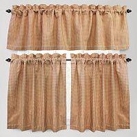 Park B. Smith Cortina Tier Kitchen Curtains