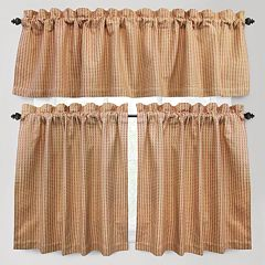Park B. Smith Cortina Tier Kitchen Curtains