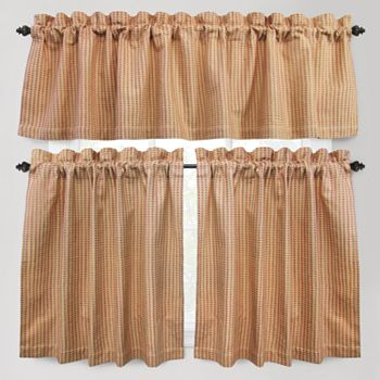 Park b smith cortina tier kitchen curtains - Kohls kitchen curtains ...