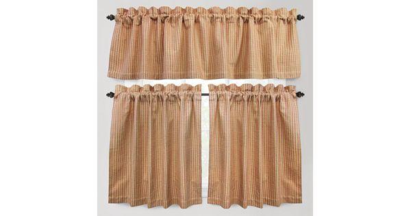 Kohl S Kitchen Curtains: Park B. Smith Cortina Tier Kitchen Curtains