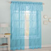 Starlight Embroidered Voile Window Treatments
