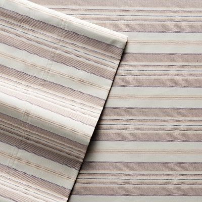 SONOMA life + style 400-Thread Count Striped Sheet Set