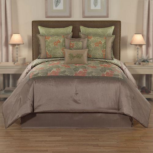 Home Classics Key Largo Reversible 8-Pc. Comforter Set $ 100.00