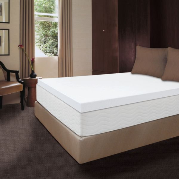 Dream Therapy 4-in. Memory Foam Mattress Topper