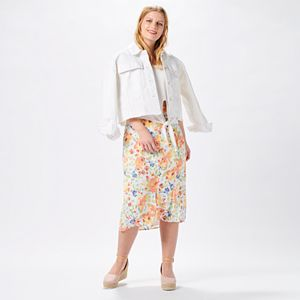 Women's Flower Delivery Outfit
