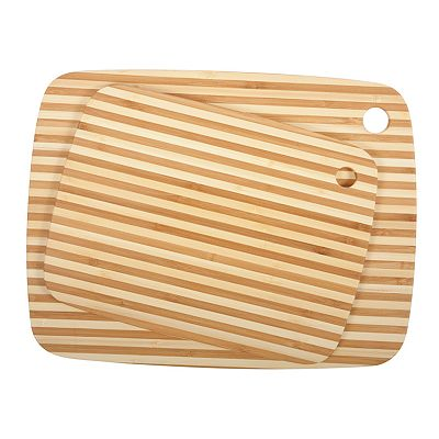 Core Bamboo Pin-Striped Cutting Board Combo Packs