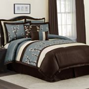 Lush Decor Cocoa Flower 8-pc. Comforter Set