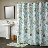 SKL Home Sprouted Palm Shower Curtain Collection