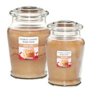Yankee Candle simply home Spice Cake Jar Candles