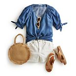 Women's Play with Chambray Outfit