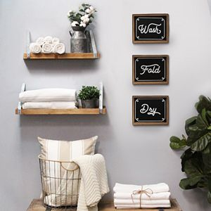 Stratton Home Decor Laundry Decor Collection
