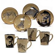 Baum Safari Dinnerware Collection