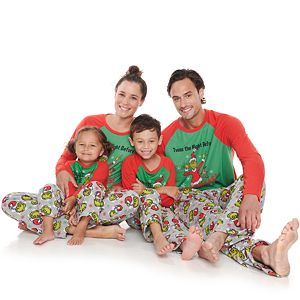 Jammies For Your Families® Dr. Suess' Grinch Family Collection