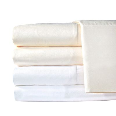 Veratex American Collection 1200-Thread Count Egyptian Cotton Sateen Solid Deep-Pocket Sheet Set