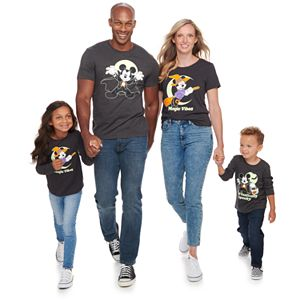 Disney's Mickey & Minnie Mouse Glow-in-the-Dark Halloween Graphic Tees by Family Fun?