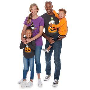 Family Fun? Peanuts Glow-in-the-Dark Halloween Graphic Tees