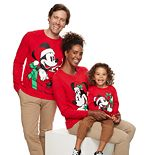 Disney's Mickey Mouse & Minnie Mouse Christmas Graphic Tee by Family Fun?