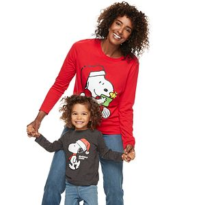 Family Fun? Peanuts Snoopy Christmas Graphic Tees