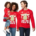 """Family Fun? Star Wars """"Merry Force"""" Graphic Tees"""