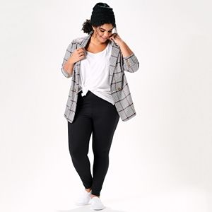 Plus Size Keep It In Check Outfit