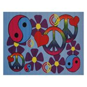 Fun Rugs Fun Time Lovely Peace Rug