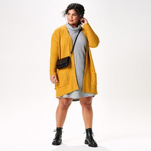 Plus Size Cardi Party Outfit