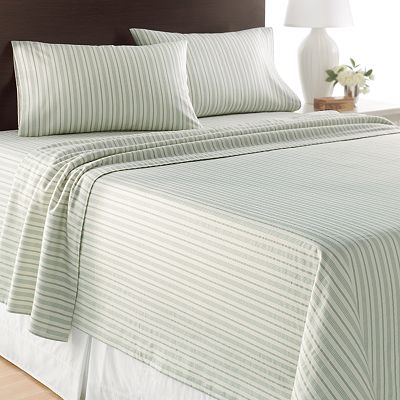 Home Classics Striped Flannel Sheet Set
