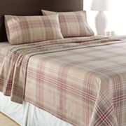 Home Classics Plaid Flannel Sheet Set