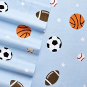 Home Classics Sports Flannel Sheet Set