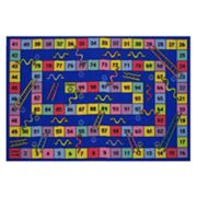 Fun Rugs Fun Time Snakes and Ladders Rug