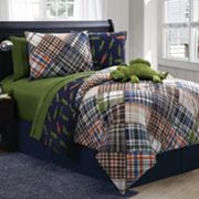 Victoria Classics Alligator Reversible Comforter Set