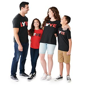 "Disney's Mickey Mouse & Minnie Mouse ""Love"" Graphic Tees by Family Fun?"