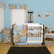 Trend Lab Teal Bubbles Bedding Coordinates