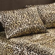 Premier Comfort Cheetah Satin Sheet Set