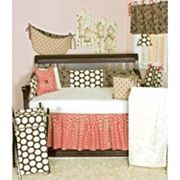 N. Selby by Cotton Tale Raspberry Dot Bedding Coordinates
