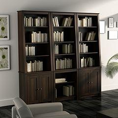 Slant-Back Bookcases
